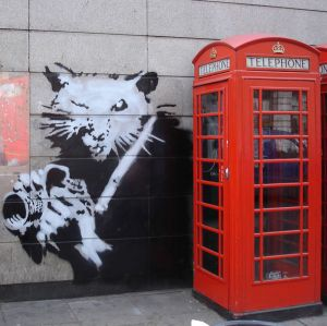 Work-of-Bansky-in-London