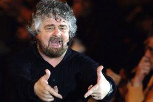 Beppe Grillo a Napoli