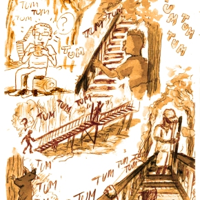 The Stairway to Earth – GraphicAnthropology